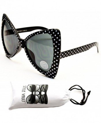 Wm529 vp Cateye Butterfly Oversized Sunglasses