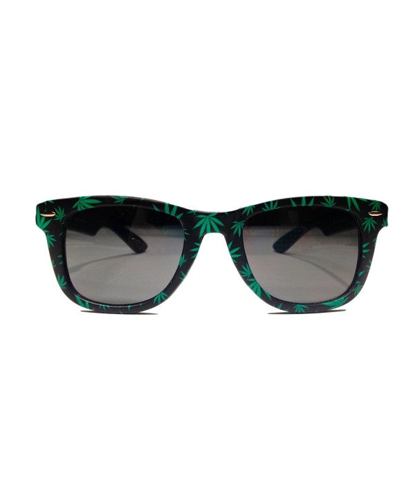 My Sunnies Weed Leaf Sunglasses