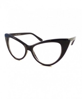 VINTAGE Women Oversized Frame Glasses