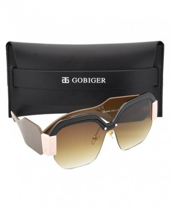 Gobiger Rimless Sunglasses Designer Glasses