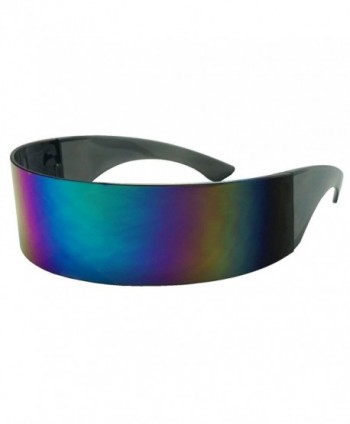 Futuristic Oversized Cyclops Sunglasses Midnight