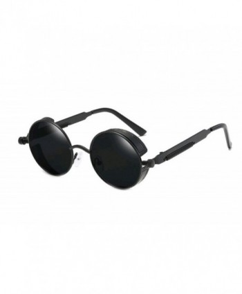GAMT Steampunk Sunglasses Circle Mirrored