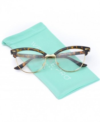 WearMe Pro Semi Rimless Retro Glasses