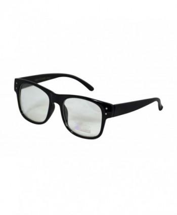 Retro Horned Classic Glasses Square