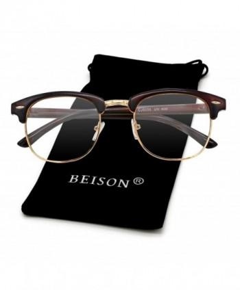 Beison Womens Wayfarer Glasses Eyeglasses