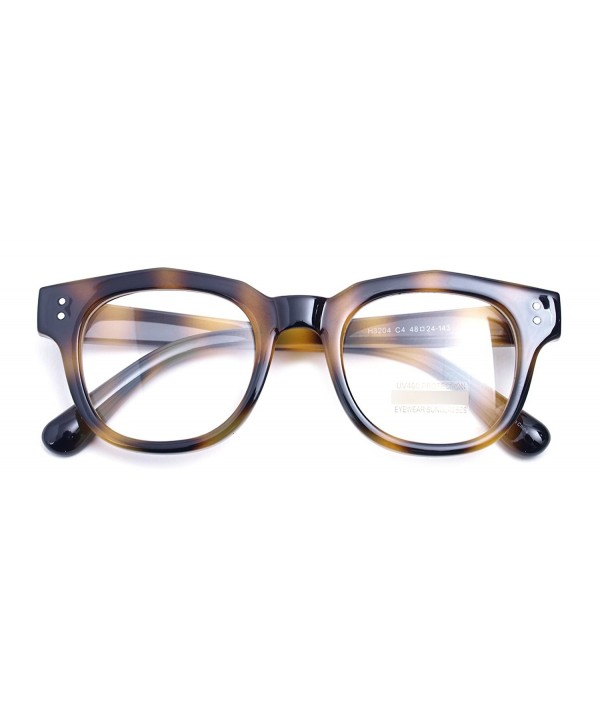 9781053c817 Oversized Square Thick Horn Rimmed Clear Lens Glasses Rivet Non ...