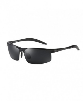 Fashion Polarized Sunglasses Al Mg Anti Glare