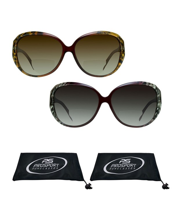 6b55391a5e135 Jackie O Sunglasses with Bifocals for Womens. - Brown Cheetah + ...