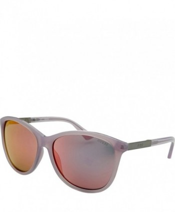 GUESS Eyewear Square Sunglasses Purple