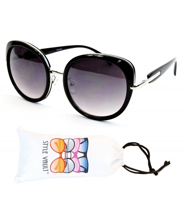 WM3038 VP Style Vault Sunglasses Silver Smoked