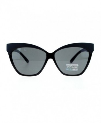 Oversized Sunglasses Thick Frame Solid