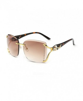 Sunshine Retro Fashion Rimless Sunglasses