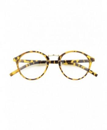 Vintage Inspired Horned Glasses Tortoise