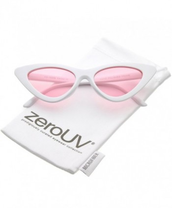 zeroUV Womens Exaggerated Tinted Sunglasses