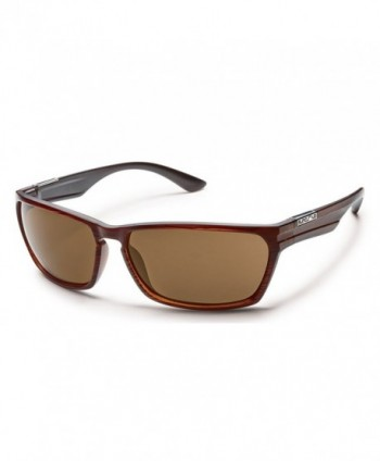 Suncloud Cutout Sunglasses Polarized Burnished