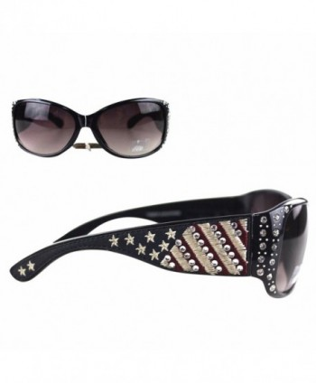 Montana West Sunglasses American Stripes