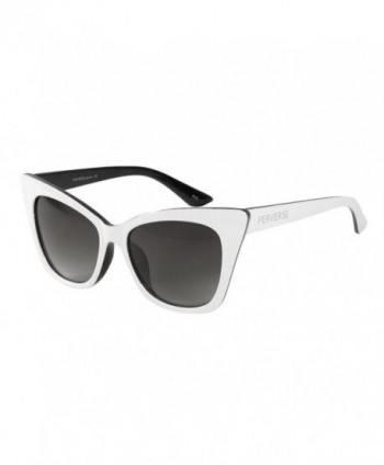 PERVERSE Sunglasses JenJen Cat eye White