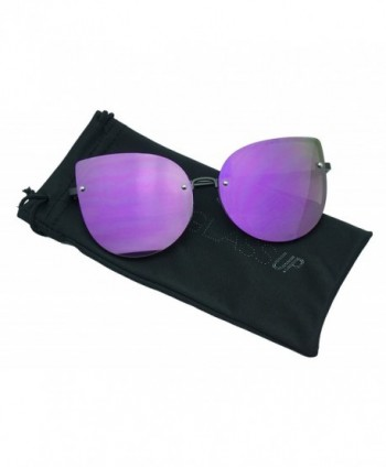 Oversized Oceanic Gradient Sunglasses rimless