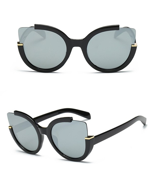 Doober Vintage Mirrored Oversized Sunglasses
