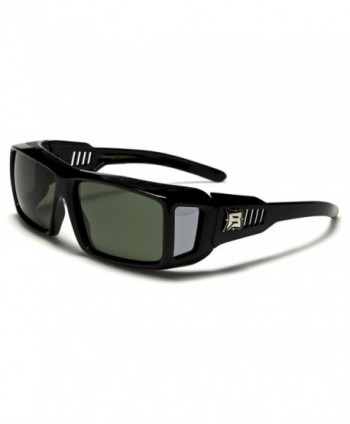 Barricade Fit Over Black Sunglasses Polarized
