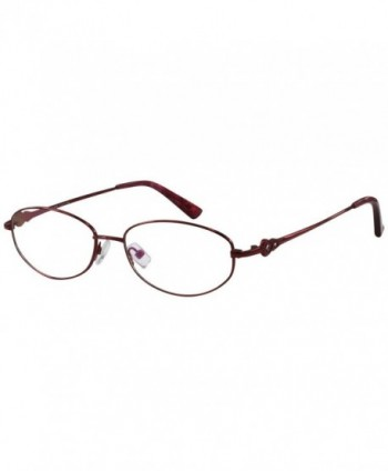 Reading Glasses Cheaters Stainless Burgundy