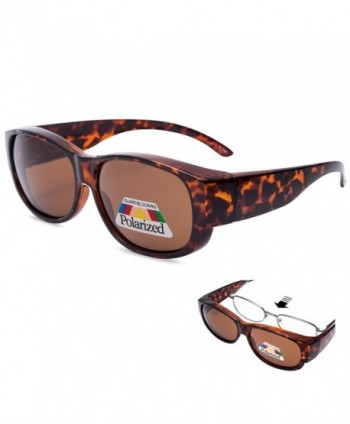 EYEGUARD Polarized Rectangular Glasses Sunglasses