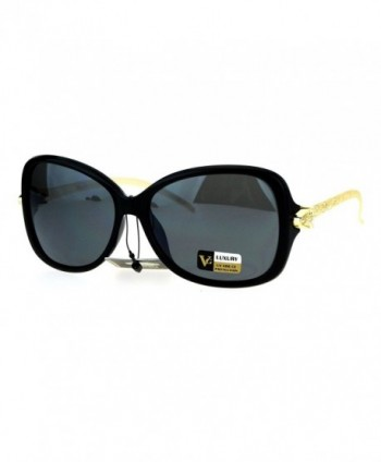 Serpent Plastic Butterfly Designer Sunglasses