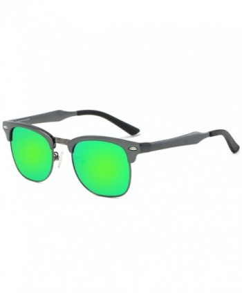 Galulas Semi rimless Sunglasses Polarized Reflective