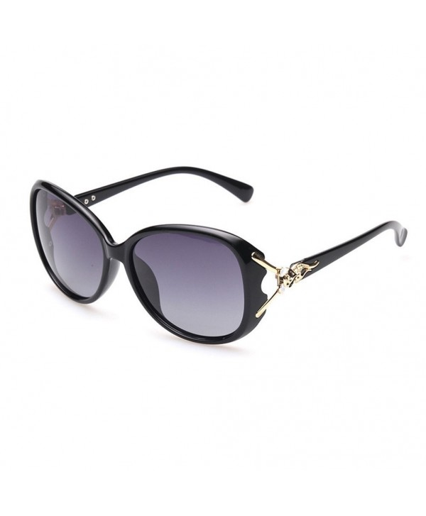 Polarized Sunglasses Protection Mirrored Oversized