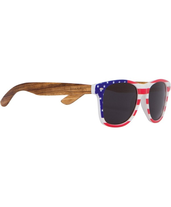 WOODIES Zebra Sunglasses American Frame