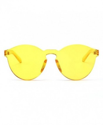 Armear Oversized Rimless Sunglasses Colored