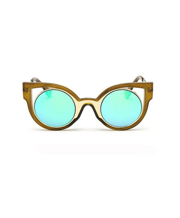 GAMT Retro Cateye Sunglasses mercury