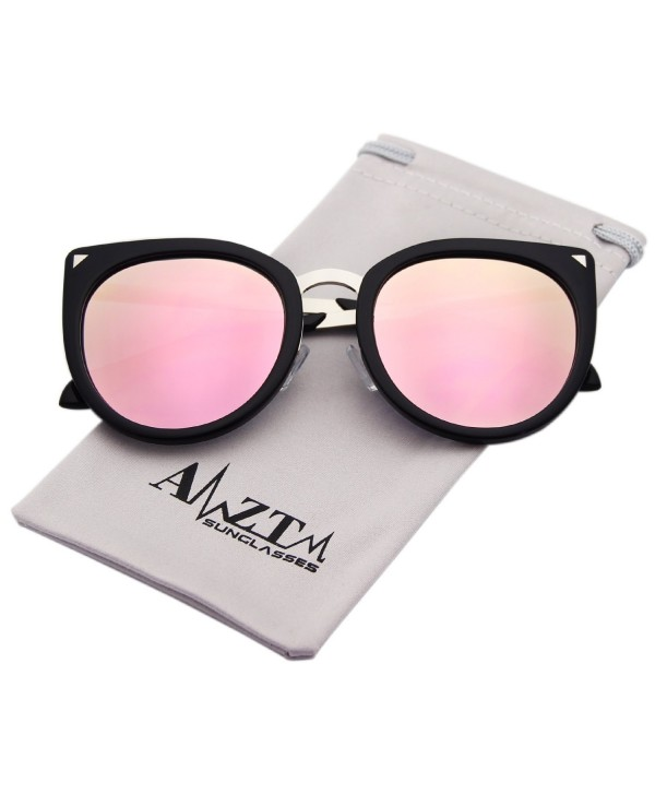 AMZTM Oversized Polarized Sunglasses Mirrored