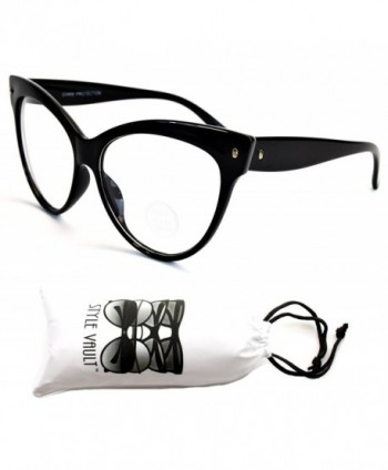 WM516 vp Style Vault Eyeglasses Black Clear