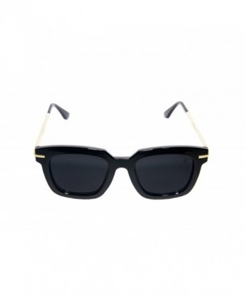 Vintage Sunglasses Square Frame Black