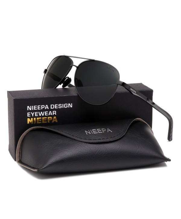 NIEEPA Aviator Polarized Sunglasses Driving