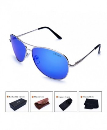 Aloyse Polarized Aviator Sunglasses Protection
