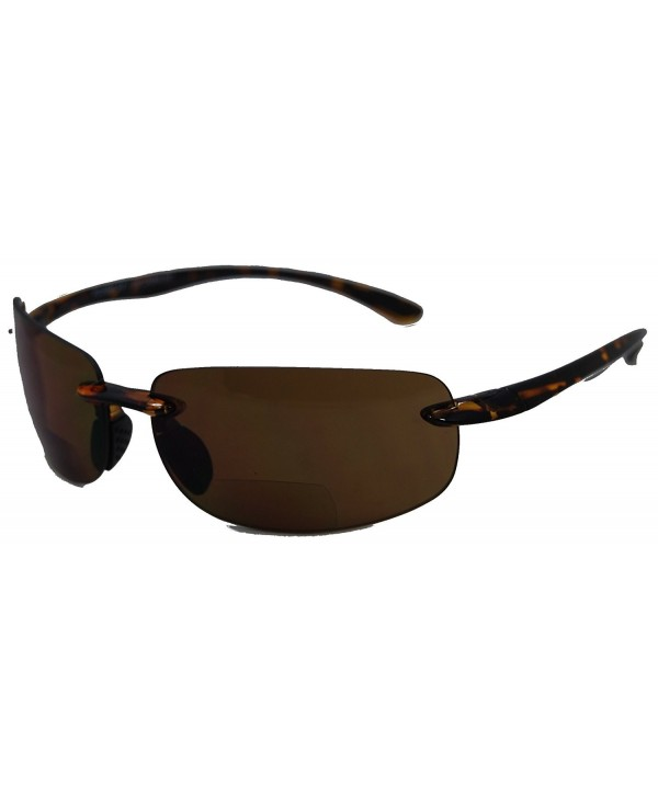 Non Polarized Invisible Sunglasses Tortoise Strength