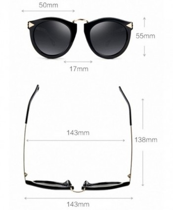 4a582e877f Available. ATTCL Vintage Wayfarer Polarized Sunglasses  Round sunglasses  Women s  Sunglasses