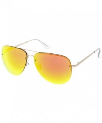 sunglassLA Premium Oversize Rimless Sunglasses