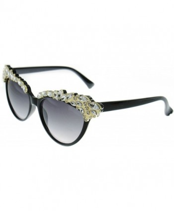 Magnifique Crystal Embellished Fashion Sunglasses