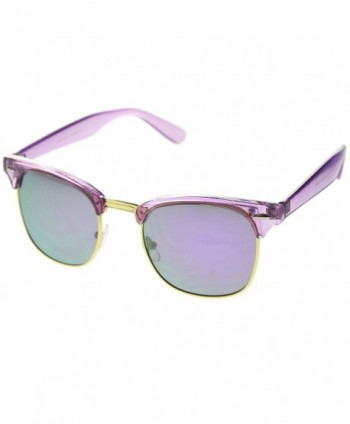 20a6687ffb3 zeroUV Classic Transparent Mirror Sunglasses  Square sunglasses  Women s  Sunglasses