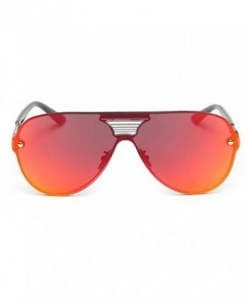 My Monkey Fashion Reflective Wayfarer Sunglasses