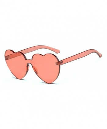Rimless Sunglasses Transparent Glasses Fashion