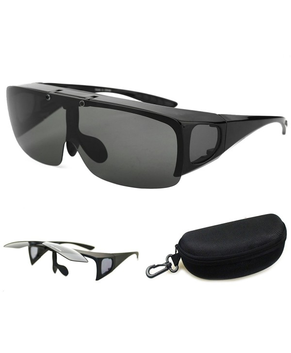 Bestum Driving Wraparounds Polarized Sunglasses