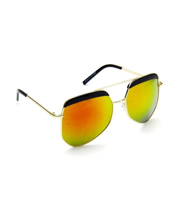 Aviator Vintage Designer Sunglasses Yellow