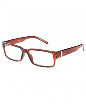 Translucent Squared Clear Lens Fashion