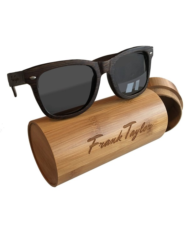 Wooden Sunglasses Frank Taylor Polarized