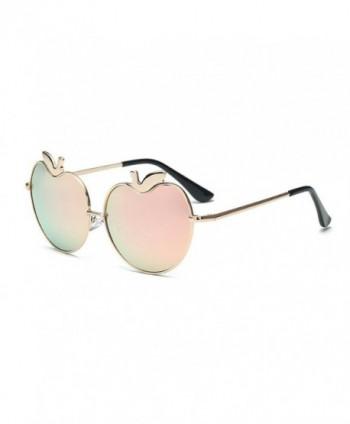 Womens Sunglasses Fashion Eyewear gold pink