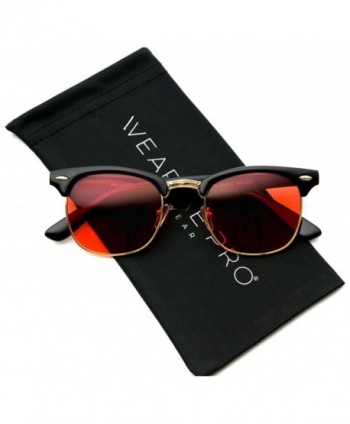 Retro Classic Rimmed Sunglasses Tinted